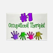 Physical Therapists II Rectangle Magnet