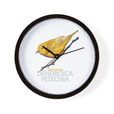 Cute Bird watcher Wall Clock