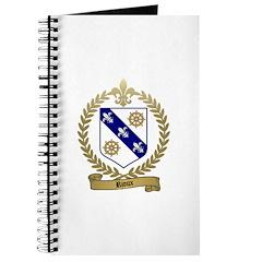 RIOUX Family Crest Journal
