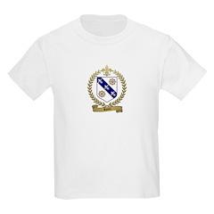 RIOUX Family Crest Kids T-Shirt