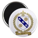 RIOUX Family Crest Magnet