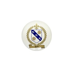 RIOUX Family Crest Mini Button