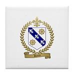 RIOUX Family Crest Tile Coaster