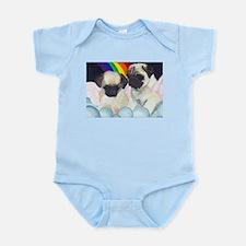Pug Angels Infant Creeper