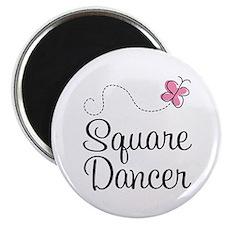 Cute Square Dancer Magnet