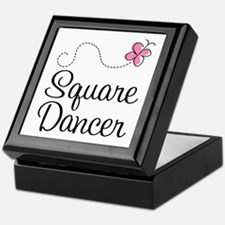 Cute Square Dancer Keepsake Box