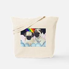 Pug Angels Tote Bag