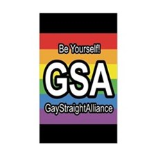 GSA 3x5 Be Yourself Decal