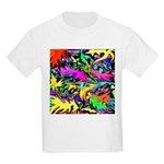 POW WOW ZAM Kids T-Shirt
