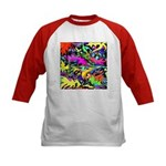 POW WOW ZAM Kids Baseball Jersey