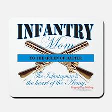 Infantry Mom IN Infantryman Mousepad