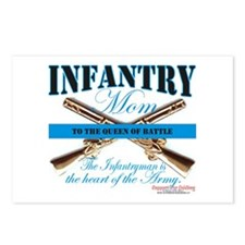 Infantry Mom IN Infantryman Postcards (Package of