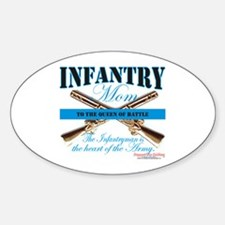 Infantry Mom IN Infantryman Decal