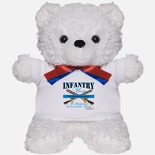 Infantry Mom IN Infantryman Teddy Bear