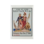 Britannia Friends Poster Art Rectangle Magnet (10
