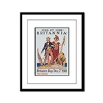 Britannia Friends Poster Art Framed Panel Print
