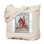 Britannia Friends Poster Art Tote Bag