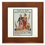 Britannia Friends Poster Art Framed Tile