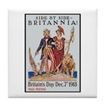 Britannia Friends Poster Art Tile Coaster