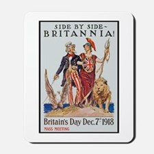 Britannia Friends Poster Art Mousepad