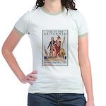Britannia Friends Poster Art Jr. Ringer T-Shirt