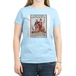 Britannia Friends Poster Art Women's Pink T-Shirt