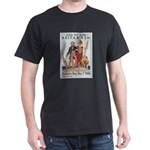 Britannia Friends Poster Art (Front) Black T-Shirt