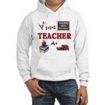 Teachers Do It With Class Hooded Sweatshirt
