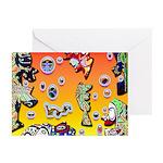 GRAFFITI ART Greeting Cards (Pk of 10)
