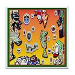 GRAFFITI ART Tile Coaster