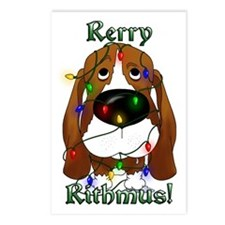 Basset - Rerry Rithmus Postcards (Package of 8)