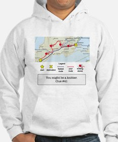 Unique Knitting funny Hoodie