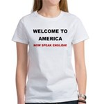 Speak English Women's T-Shirt