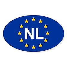 EU Netherlands Stickers