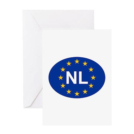 EU Netherlands Greeting Card