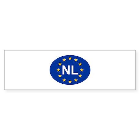 EU Netherlands Sticker (Bumper)