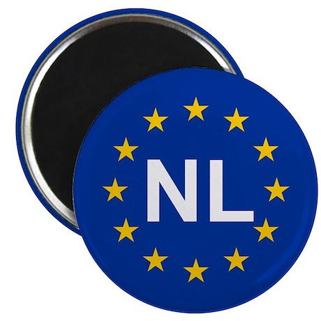 """EU Netherlands 2.25"""" Magnet (10 pack)"""