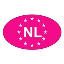 EU Pink Netherlands Decal