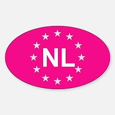 EU Pink Netherlands Decal