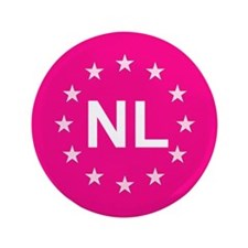 "EU Pink Netherlands 3.5"" Button"