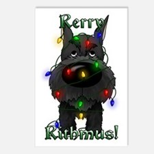 Schnauzer - Rerry Rithmus Postcards (Package of 8)