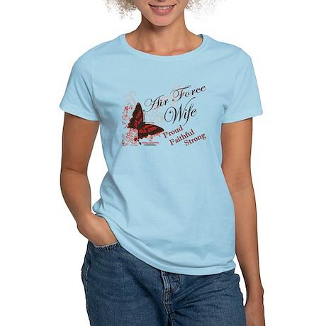 Air Force Wife Women's Light T-Shirt