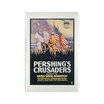 Pershing's Crusaders Poster Art Rectangle Magnet (