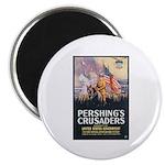 Pershing's Crusaders Poster Art Magnet