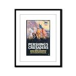 Pershing's Crusaders Poster Art Framed Panel Print
