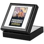 Pershing's Crusaders Poster Art Keepsake Box