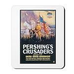 Pershing's Crusaders Poster Art Mousepad