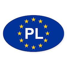 EU Poland Stickers