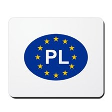 EU Poland Mousepad