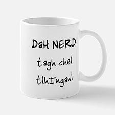 Klingon Nerd Small Small Mug